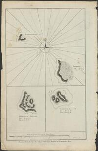 Wanooaette Isld., Wateeoo Island, lat. 20°.1' S, long. 201.°45' E [some islands in the Cook Islands group] / T. Bowen, sct