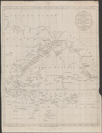 A chart of the discoveries made by the late Capt. Cook, & other European navigators in the great Pacific Ocean between Asia and America / by T. Kitchin, Snr