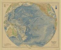 Pacific ocean : bathy-orographical chart / by John Bartholomew, M.C., M.A. ; Edinburgh Geographical Institute