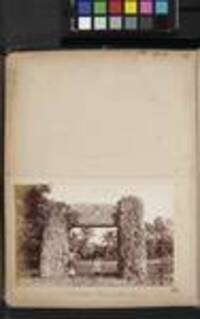 Remarkable Stones at Mua (front view), [Tonga, c1880 to 1889]