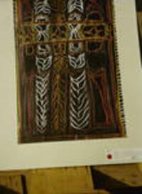 Creative design by Meneme Ogoe, Kainantu Eastern Highlands, trainee at Port Moresby Teachers College, [Papua New Guinea, 1964]