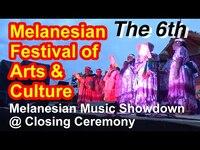 Melanesian Music Showdown at the Closing Ceremony, 6th Melanesian Arts and Cultural Festival