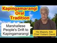 Account of the Marshallese People's Drift to Kapingamarangi in the Late Nineteenth Century