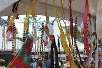 Traditional Tuvalu handicrafts, Pasifika Festival.