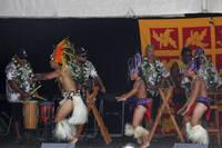 Tahitian performance, Pasifika Festival.