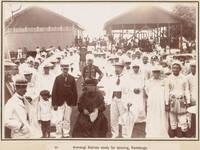 Dancers at Rarotonga, 1903