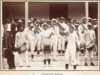 Arorangi Brass Band, Rarotonga, 1903