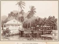 Avarua Village, Rarotonga, 1903
