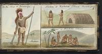 Te Po. Chief of Rarotonga. Natives of Wytoohe Island. Paumotu group. Natives of Bowditch Island