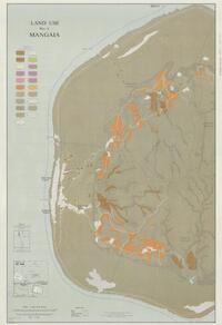 Land use map of Mangaia (sheet 1 recto)