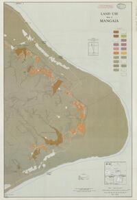 Land use map of Mangaia (sheet 2 recto)