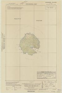 Provisional map, northeast New Guinea: Bagabag Island (Sheet Bagabag Island)