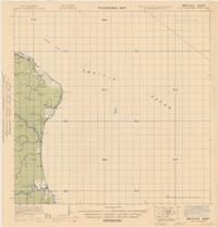 Provisional map, northeast New Guinea: Matuka East (Sheet Matuka East)