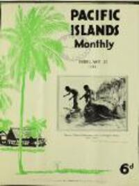 Shipping Services in the Pacific (22 February 1933)