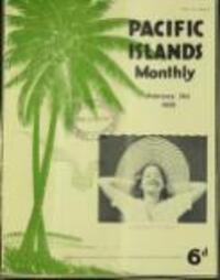 STRANGE ROCK CARVING IN TAHITI (21 February 1935)