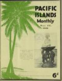 UNEASY SAMOA Politics and Epidemics (22 May 1936)