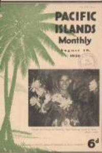 STUDY OF POLYNESIAN HISTORY AND LANGUAGES (19 August 1936)