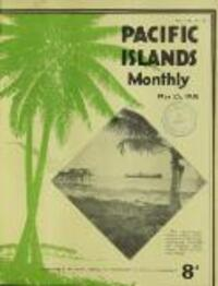 PACIFIC ISLANDS Monthly (25 May 1938)