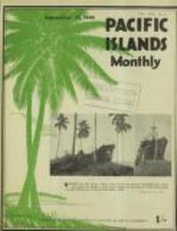 AUSTRALIA'S INTEREST IN PORTUGUESE TIMOR (19 September 1946)