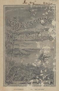 The Dayspring for the New Hebrides