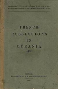 French possessions in Oceania.