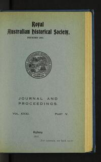 The Social and Industrial Development of Cessnock and District. (1 October 1945)