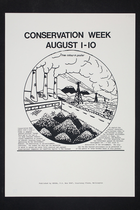cover image for Posters on Conservation