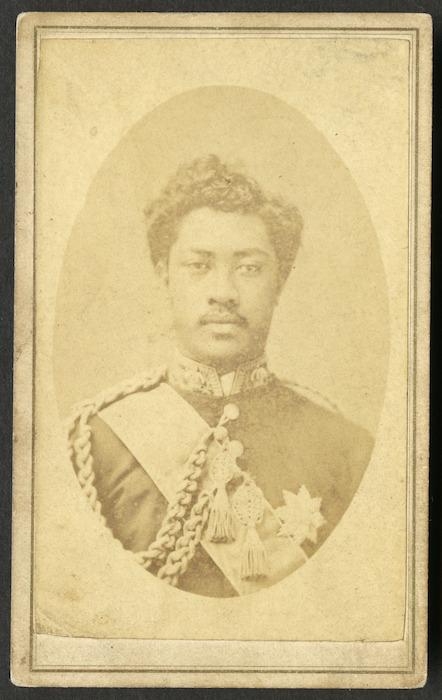 Dickson, M fl 1870s :Portrait of William Pitt Leleiohoku 1855-1877
