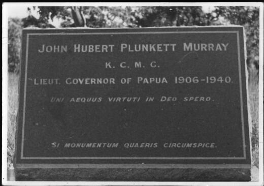 Funeral of Sir Hubert Murray in Port Moresby, Papua, 1940 / R.V. Oldham