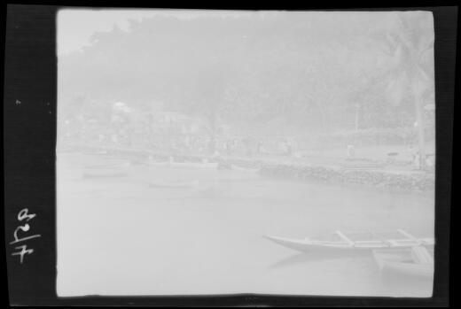 Market day at Pago Pago, American Samoa, Tutuila Island, approximately 1924 / Michael Terry