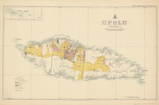 Mandated territory of Western Samoa / R.C. Airey, Del. ; prepared by the direction of the Hon. Minister of External Affairs, New Zealand