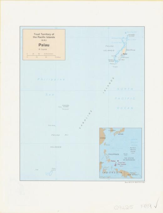 Palau, Trust Territory of the Pacific Islands (U.S.)