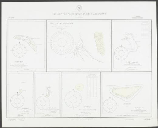 Islands and anchorages in the Ellice Group, South Pacific Ocean / Hydrographic Office, U.S. Navy