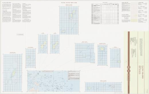 Pacific islands : index to topographic and other map coverage / published and distributed by United States Geological Survey, National Mapping Program