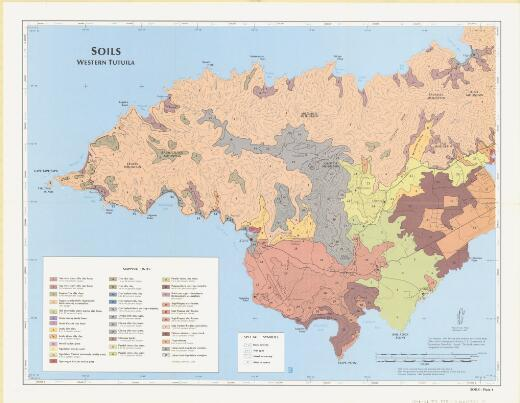Soil survey of American Samoa / by Sakuichi Nakamura ; United States Department of Agriculture, Soil Conservation Service in cooperation with the Government of American Samoa