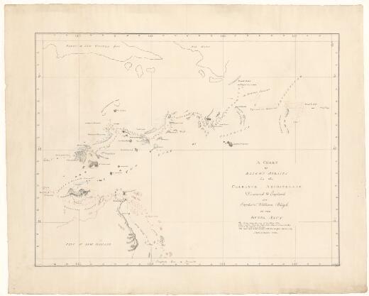 [William Bligh charts]