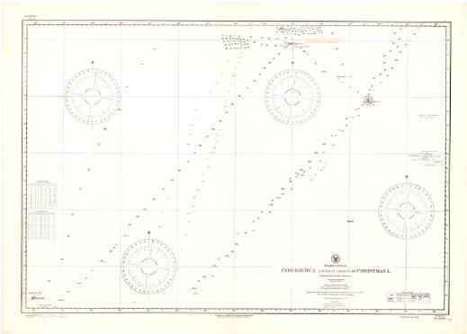 Enderbury I. (Phoenix Group) to Christmas I., Pacific Ocean / Hydrographic Office, U.S. Navy