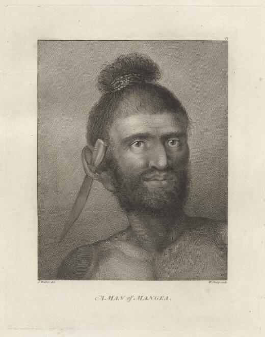 A man of Mangea / J. Webber del.; W. Sharp sculp