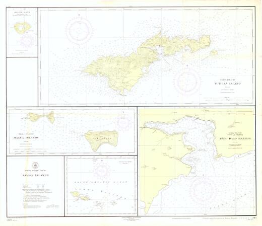 Samoa Islands, South Pacific Ocean / Hydrographic Office, U.S. Navy