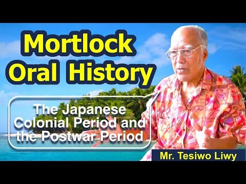 Mortlockese Resettlement to Pohnpei 6: The Japanese Colonial Period and the Postwar Period