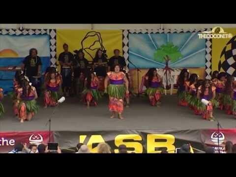 Polyfest Niue Stage - Auckland Girls Grammar School