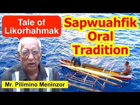 Legendary Tale of Likorhahmak, Sapwuahfik Atoll