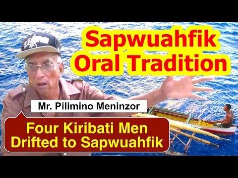 Account of Four Kiribati Men Drifted to Sapwuahfik