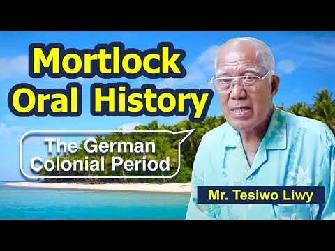 Mortlockese Resettlement to Pohnpei 3: The German Colonial Period