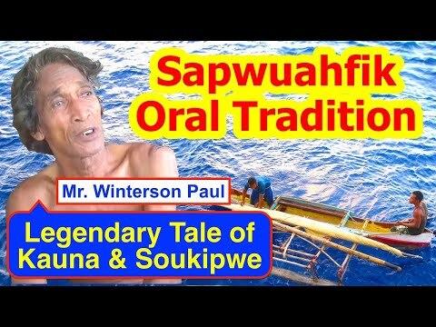 Legendary Tale of Kauna and Soukipwe, Sapwuahfik Atoll