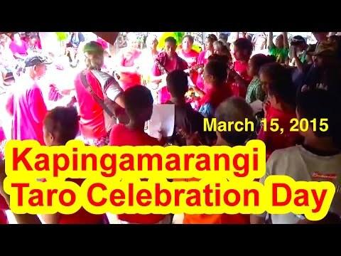 Kapingamarangi Taro Celebration Day, March 15, 2015