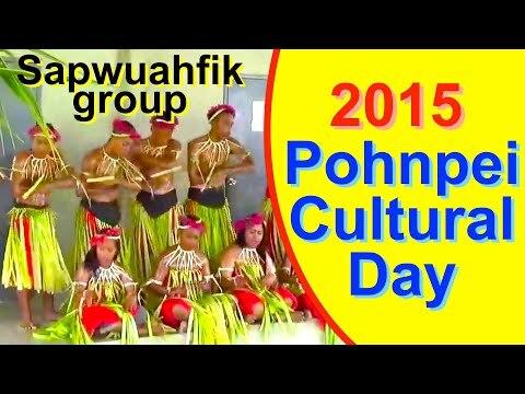Sapwuahfik group, Pohnpei/FSM Cultural Day 2015
