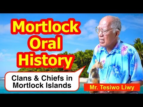 Account of Clans and Chiefs in the Mortlock Islands
