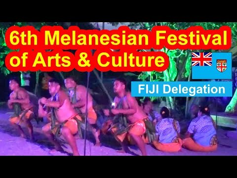 Fiji Delegation, 6th Melanesian Festival of Arts and Culture