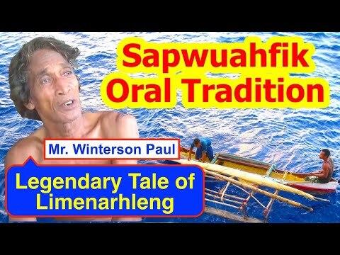 Legendary Tale of Limenarhleng, Sapwuahfik Atoll